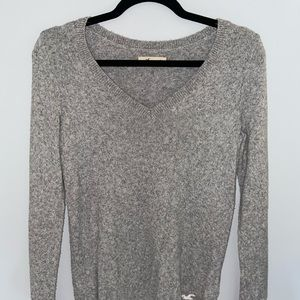 Gray Hollister sweater